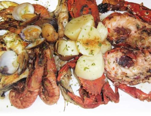 Parrillada mixta de pescado y marisco